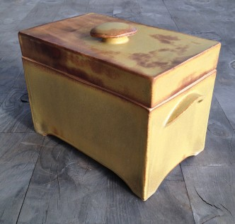 One of the larger boxes, 6 x 4 1/2 x 8""
