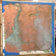 freshly patina-ed