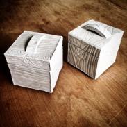 wood grain boxes