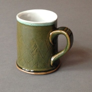 charlie brown sweater pattern mug