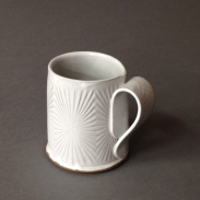 star burst pattern mug