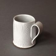 star burst pattern mug